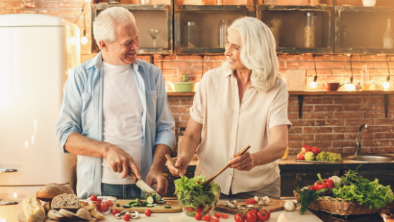 The Benefits of Meal Preparation for Older Adults